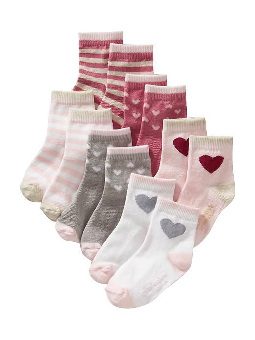 Patterned Sock 6-Pack for Baby Product Image