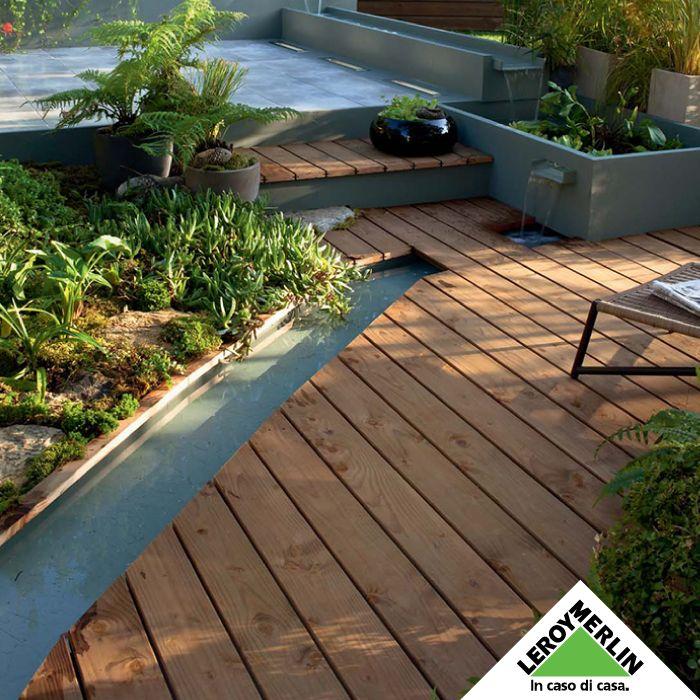 PASSARE PIÙ TEMPO ALL'ARIA APERTA - Se hai uno spazio esterno, è il momento di dedicargli un po' di tempo. Più di prendi cura di lui, più lui si prenderà cura di te.  Scegli un pavimento da esterni in legno --> http://www.leroymerlin.it/prodotti/pavimenti-e-rivestimenti/pavimenti-in-legno-e-legno-composito-CAT227-c Scegli l'arredamento giusto --> http://www.leroymerlin.it/arredamento-giardino-e-terrazzo