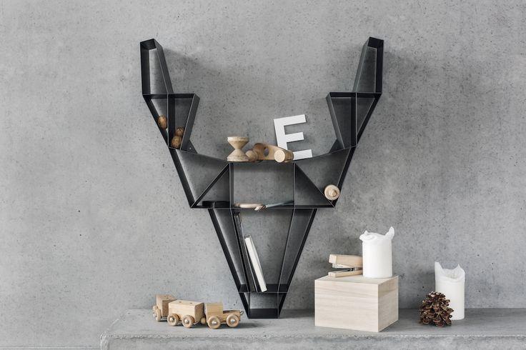 BEdesign - Deer shelf metal