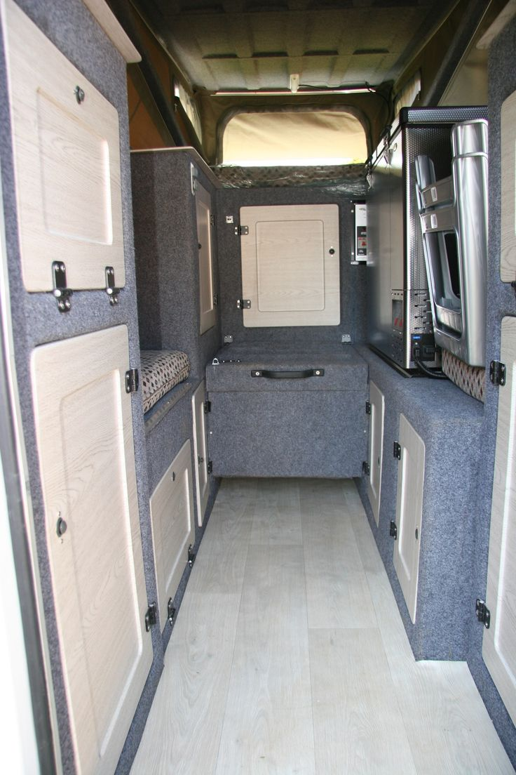 Abba Camper on Land Rover 130 chassis cab