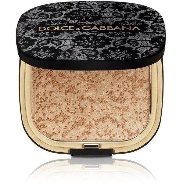 Dolce & Gabbana Makeup Glow Bronzing Powder found on Polyvore