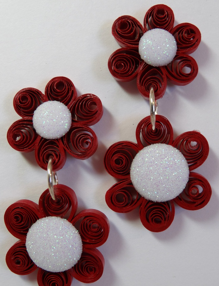 quilling - Earrings Quilling Jewelry Pinterest Quilling, Earrings and Quilling earrings