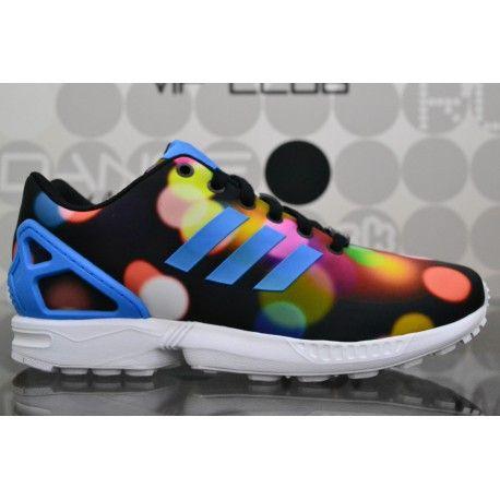 Scarpe Adidas ZX Flux Multicolor da uomo, sneaker da running con tomaia in tessuto e fodera in mesh traspirante. Spedizioni gratuite in 24/48h.
