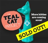 "The Teal Cat Project supports TNR (trap-neuter-release) programs. I love the idea; I should have acted faster to get my cat. I want to start a partner group called the ""Purple Pup Project""! @TealCatProject #cats #animals"