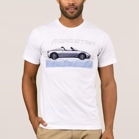 Tesla Roadster Men's T-Shirt