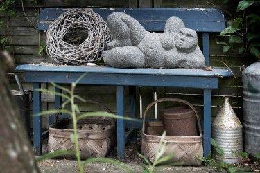 Stenkunst i Savillas gårdhave