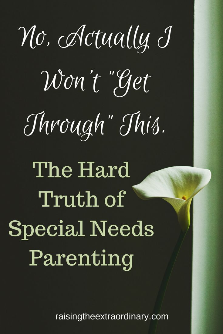 Special needs parenting is hard enough without someone else interfering in our process. Allow us the space to handle it as we see fit. You do more harm than good when you teach about a child you don't know.