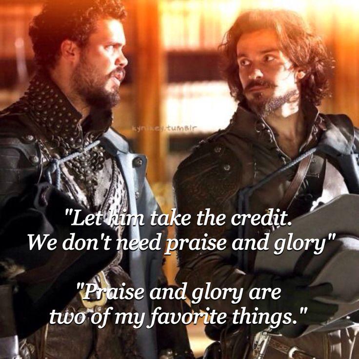 The Musketeers BBC, season 2 Porthos & Aramis are my favorites