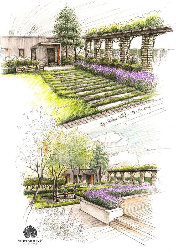 380 best images about garden ideas and designs on for Garden design sketches