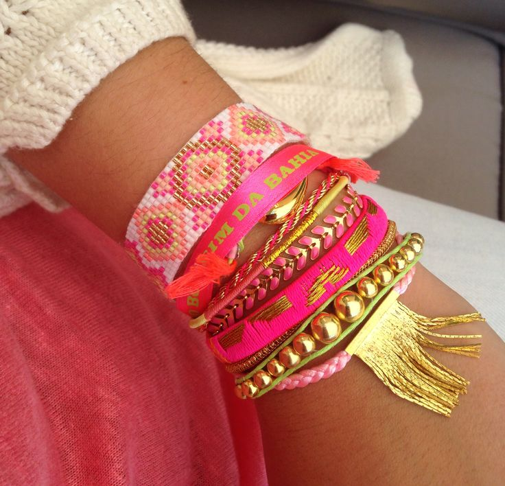 Love my hipanema! Perfect bracelets for summer