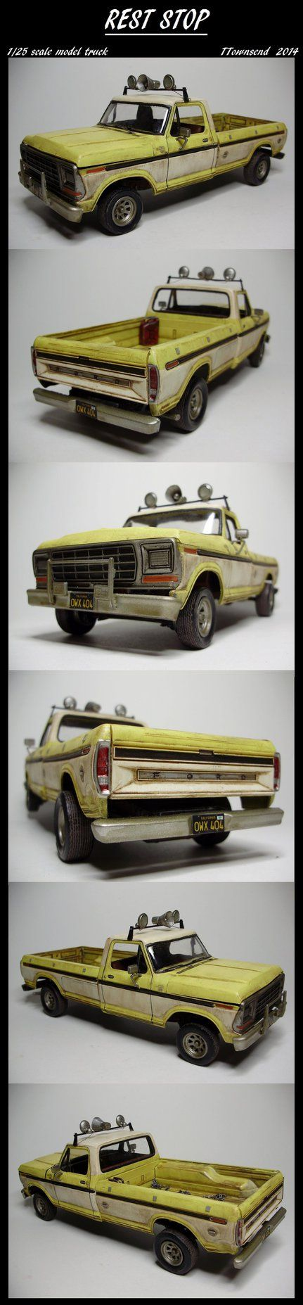 1978 chevy stepside truck lifted 1978 chevy 7 500 aurora - I Wanted To Take A Crack At The Truck From The Movie Rest Stop For A While And Just Recently Got My Hands On A 1978 Ford Model Kit Its Not Exac