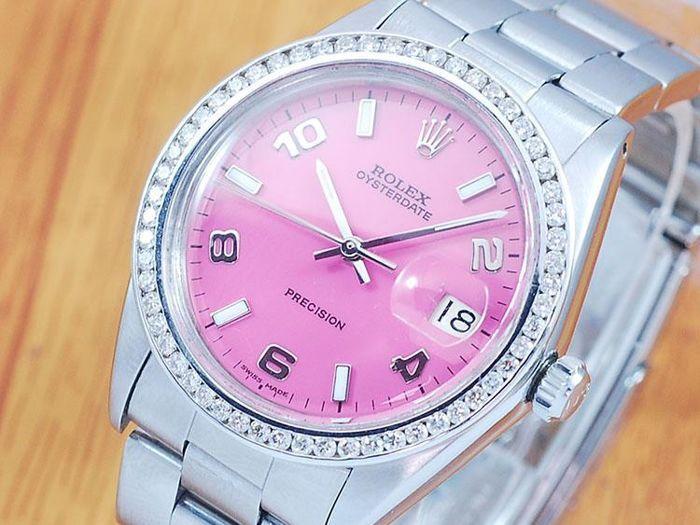Online veilinghuis Catawiki: Rolex 6694 Oysterdate Precision Diamonds Men's Watch!