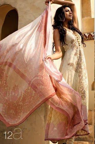 Sana Safinaz 2014-2013 Lawn Dress For Girls