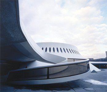 LE HAVRE - Maison de la culture du Havre. Oscar Niemeyer- Le Havre, France - P. Michel Moch