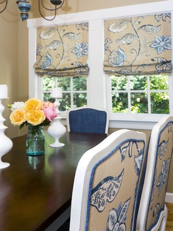 Classic Chic Home Simple Elegance Decorating With Roman Shades