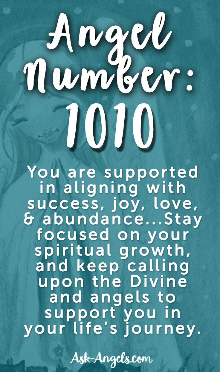∆ Numbers... Angel Number 1010