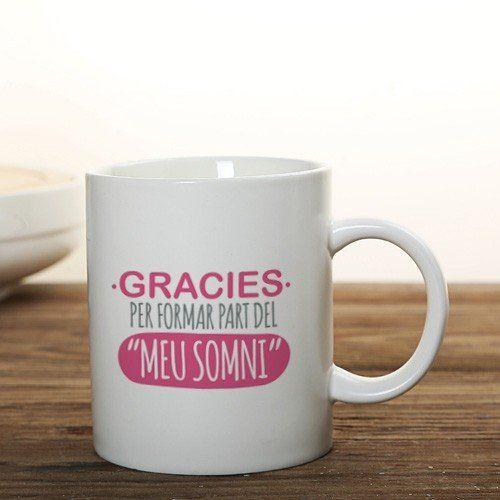 Lo mejor para disfrutar de un buen café, té o infusión es con esta taza fallera recordando el año de tu reinado..