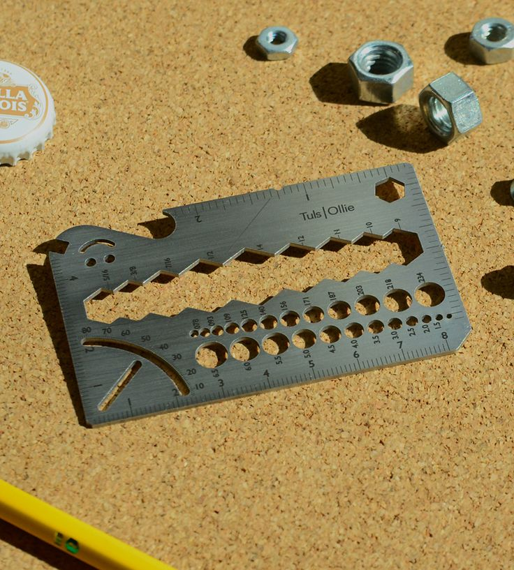Ollie Metal Wrench Multi-Tool by Onehundred on Scoutmob