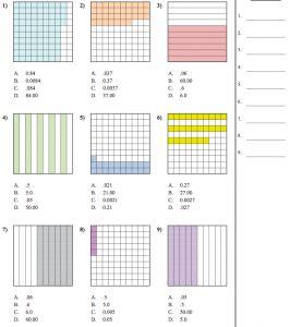 Repasamos números decimales. Fichas imprimibles - AULA PT