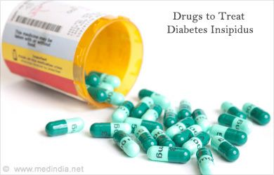 Central diabetes insipidus is caused mainly due to decrease in production of the ADH hormone. Description from zeros.co.in. I searched for this on bing.com/images