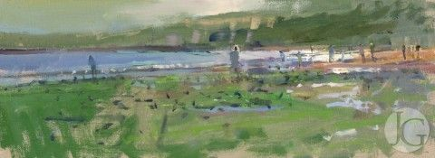 Paintings by Richard Pikesley from The Jerram Gallery, Sherborne, Dorset. Contemporary British pictures and sculpture