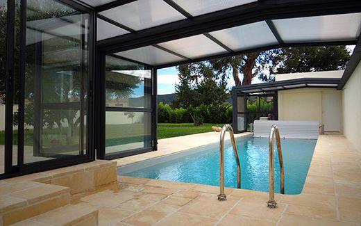 Les 12 meilleures images propos de nos abris adoss s t lescopiques pour piscine sur pinterest - Abri piscine adosse maison nanterre ...