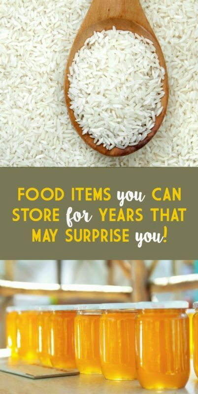 FOOD ITEMS YOU CAN STORE FOR YEARS THAT MAY SURPRISE YOU | eBay