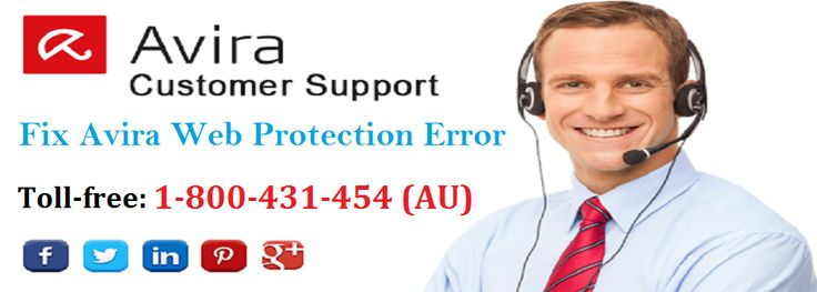 Call 1-800-431-454 #Avira customers may be happy that the online technical solution service has been initiated in #Australia for Avira web protection error fix issue by expert and skilled experts.