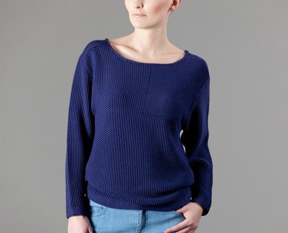 Pullover Marine Bleu Cacharel en vente chez LException