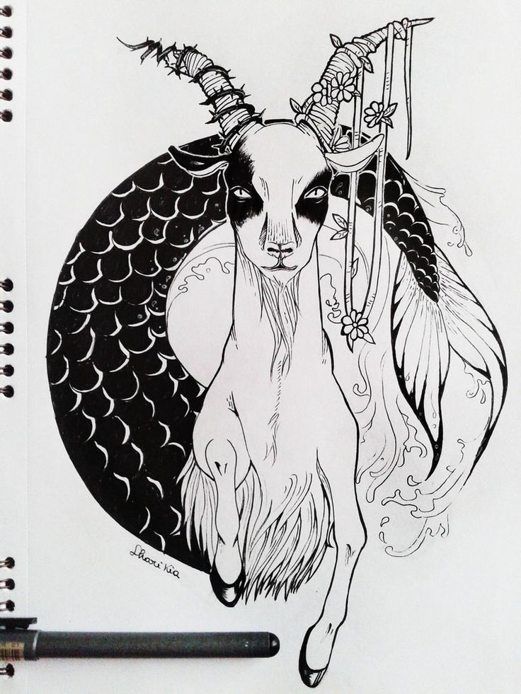 Tattoo capricorn woman — img 5