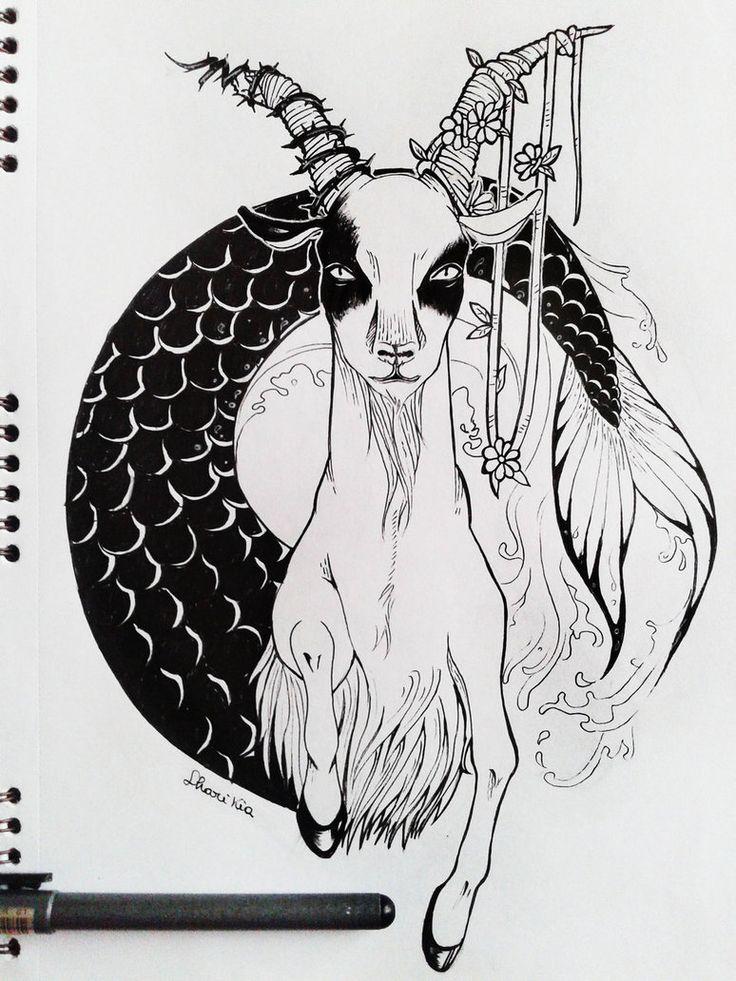 ZODIAC SIGNS - Capricorn by ShariKia