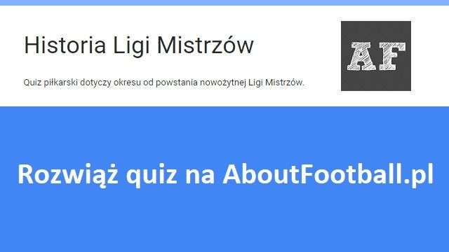Quiz piłkarski dotyczący Ligi Mistrzów • Historia Ligi Mistrzów - 12 pytań • Czy ktoś z Was rozwiąże quiz bezbłędnie? • Zobacz #quiz #pilkanozna #futbol #sport #ligamistrzow #quizy #lm