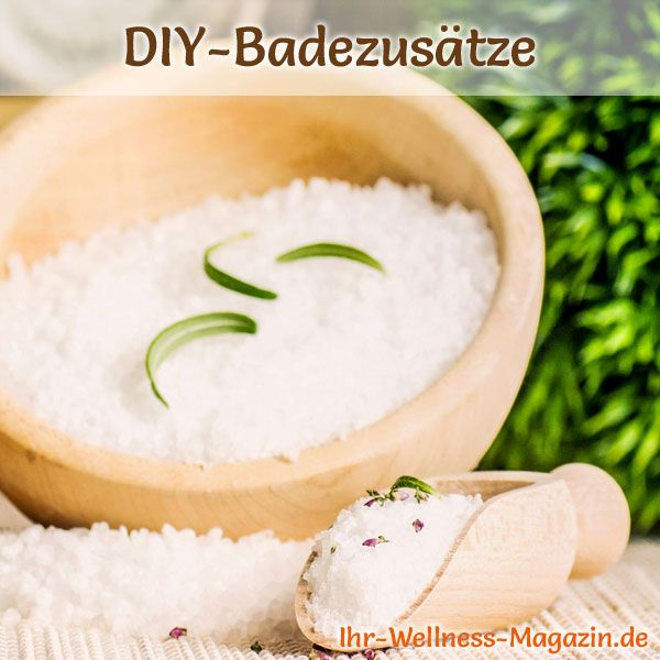 Badezusätze selber machen: Basisches Badesalz, Besonders geeignet für gereizte, empfindliche Haut, ...