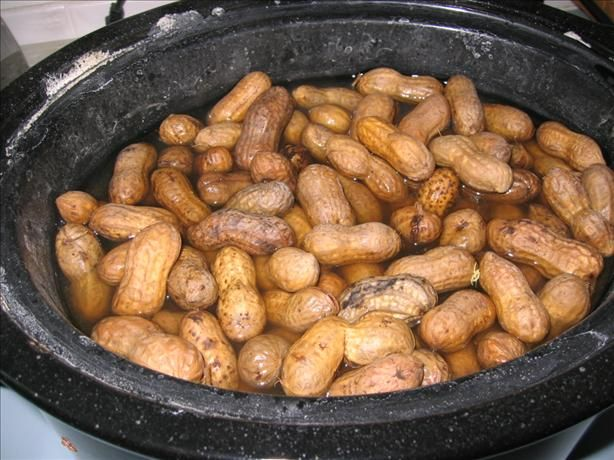 Crock Pot Boiled Peanuts from Food.com:   								A recipe I found on the internet, posted by request.