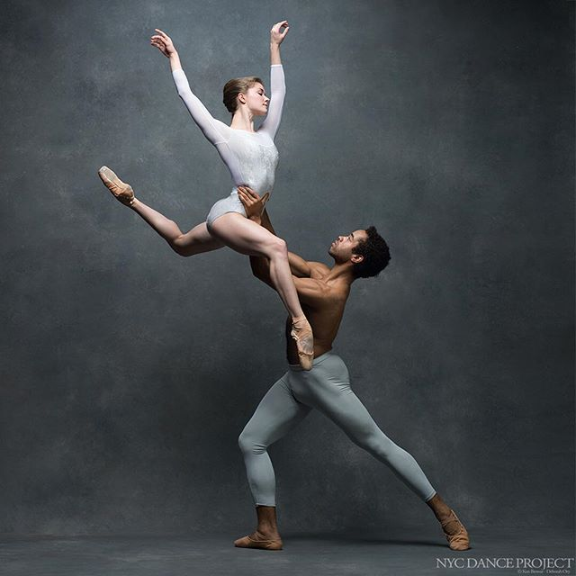 Cassandra Trenary and Gabe Stone Shayer, American Ballet Theatre. Leotard by…