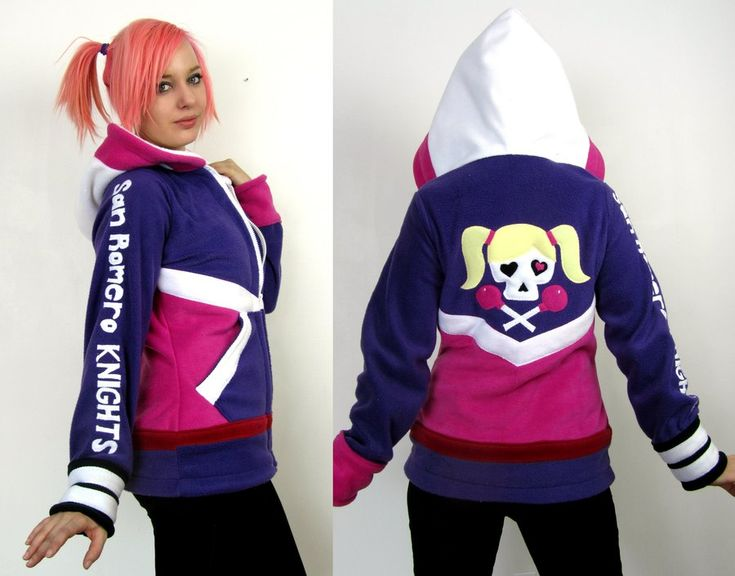 Lollipop Chainsaw -- Juliet Starling hoodie! by Lisa-Lou-Who on deviantART