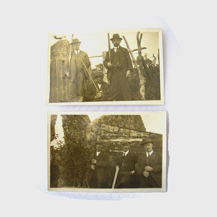 2 Vintage photographs 1916 Easter Rising Irish Civil War rebellion armed men soldiers revolt Irish History from Ireland ORIGINAL PHOTOS by IrishBarnVintage on Etsy