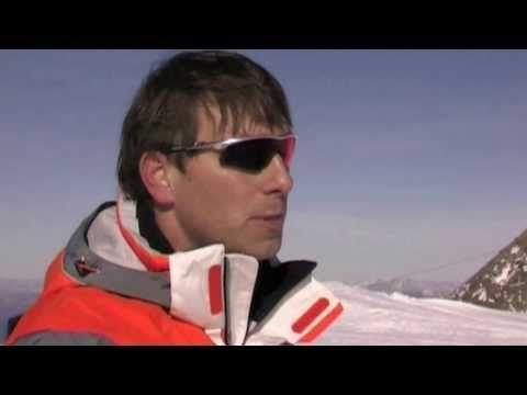 Škola lyžování s Petrem 2. díl - Jízda šusem + chození do kopce + správně vstát ze země - YouTube