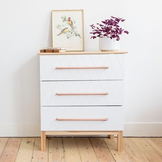 17 best ideas about commode ikea on pinterest commode - Relooker une commode ikea ...