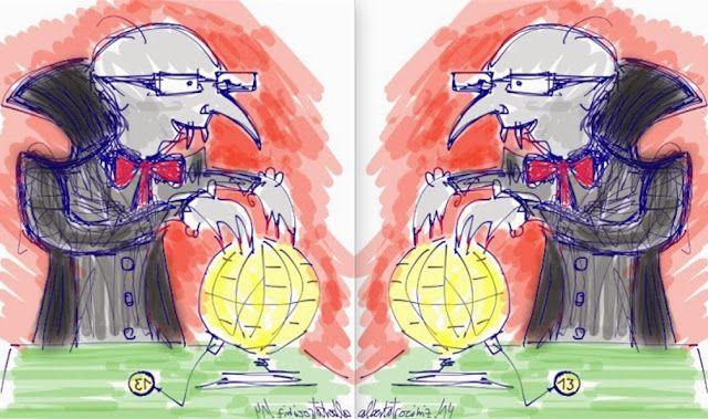 ESTAO DEL BIENESTAR- BIENESTAR DEL GOBIERNO// Es jubiloso el tiempo del solsticio (el de verano, simétrico al de invierno) entre otras cosas pues marca esa frontera—para incluso algunos rezagados— entre la esclavitud a que nos vemos sometidos por monstruo del Estado que nos chupa la sangre con impuestos, y el medio año que aún resta deja libre a campar cada cual por sus respetos ya lejos del murciélago…—…