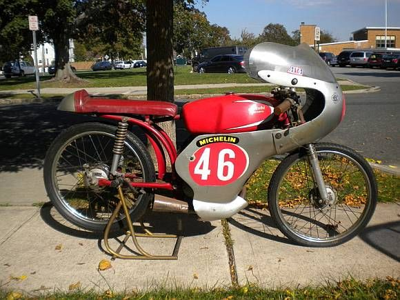Vintage Mopeds for Sale | 1961_Benelli_50cc_Factory_Works_Racer_Motorcycle_For_Sale.jpg