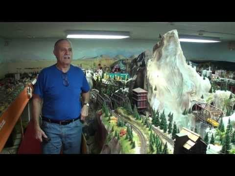 Greatest Private Model Railroad H.O. Train Layout Ever? John Muccianti works 30+ years on HO layout - YouTube