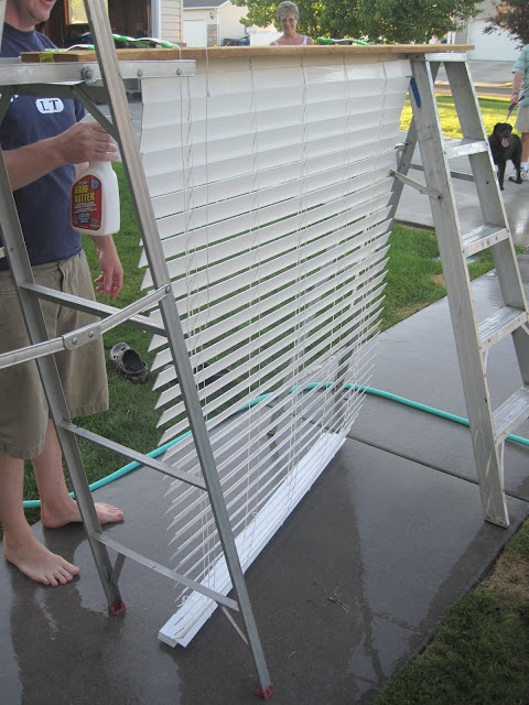 I have been looking for a good way to clean blinds!! Finally found one!!