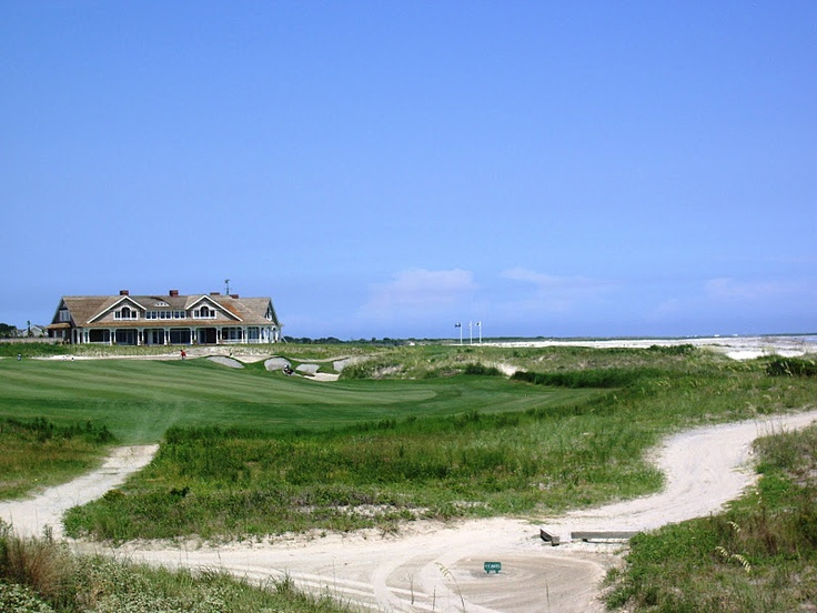 The clubhouse at the Ocean Course || Kiawah Island, SC