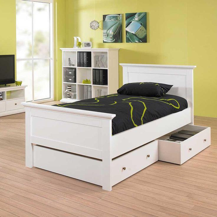 Einzelbett mit schubladen  Die besten 25+ Bett mit schubladen Ideen auf Pinterest ...