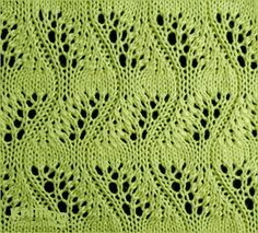 Japanese Feather Stitch | Lace Knitting Patterns