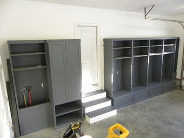 Great way to create tons of storage in the garage.