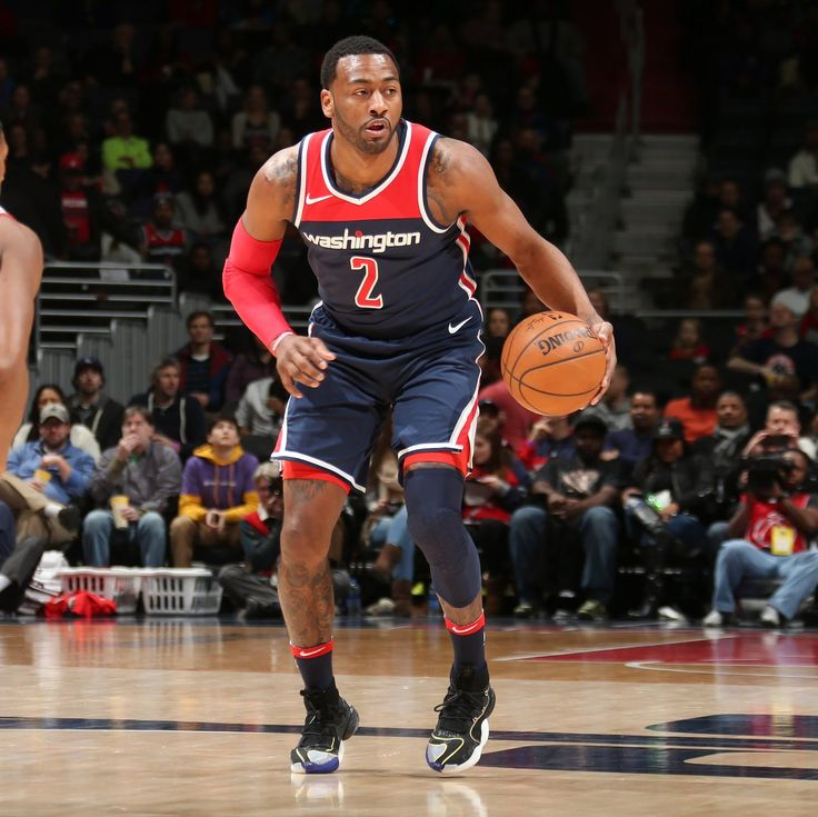 John Wall wearing the yet-to-release adidas Crazy BYW today 👀