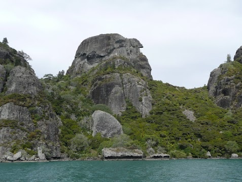 "Whangaroa Harbour Northland NZ  The ""Dukes Nose"""
