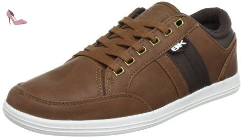 British Knights B31-3619, Chaussures à lacets homme - Noir (Black/Black 9), 42 EU